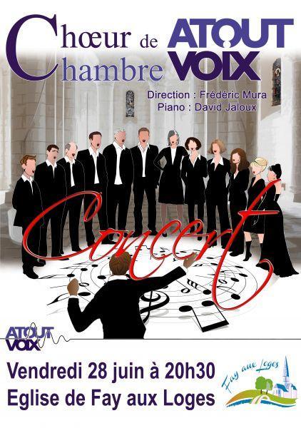 image de Concert du chœur de chambre - ATOUTVOIX