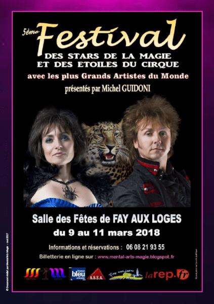 image de 5ème Festival International des Stars de la Magie et des Etoiles du Cirque à FAY AUX LOGES