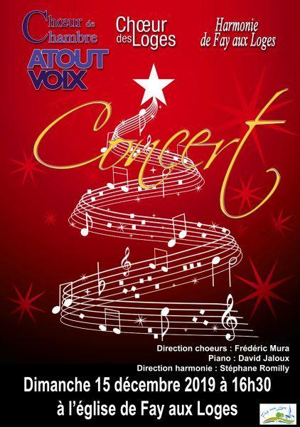 image de Concert de Noël ATOUTVOIX