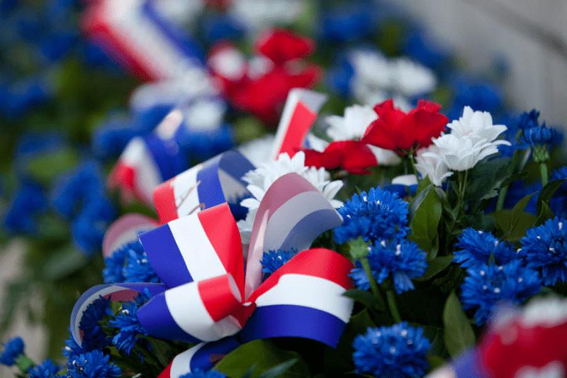 image de Cérémonie en hommage aux victimes et aux héros de la déportation