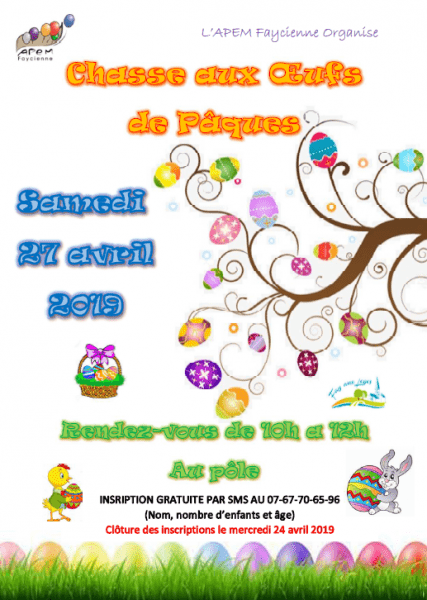image de Chasse aux œufs organisée par l'APEM