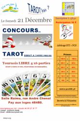 Concours et jeux de cartes du Club de Tarot