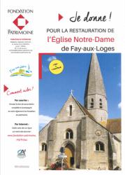 Concert au profit des travaux de l'église Notre-Dame