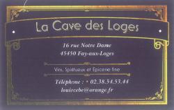 LA CAVE DES LOGES