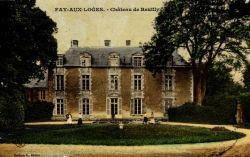 Le château de Reuilly