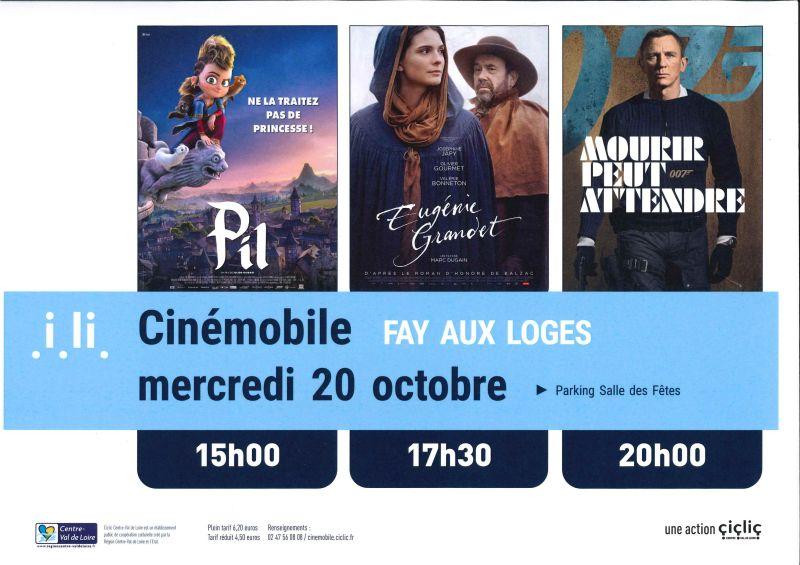 image de Cinémobile - Octobre 2021